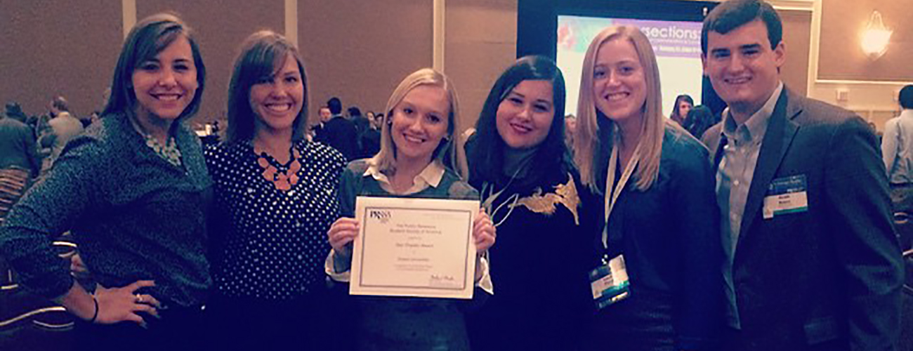 Drake PRSSA Wins Star Chapter Award